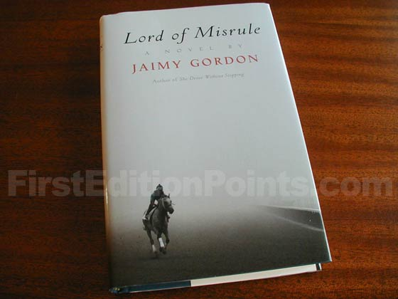 Picture of the 2010 first edition dust jacket for Lord of Misrule.