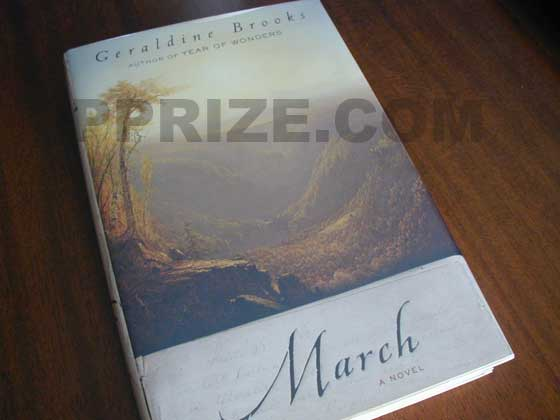 Picture of the 2005 first edition dust jacket for March.