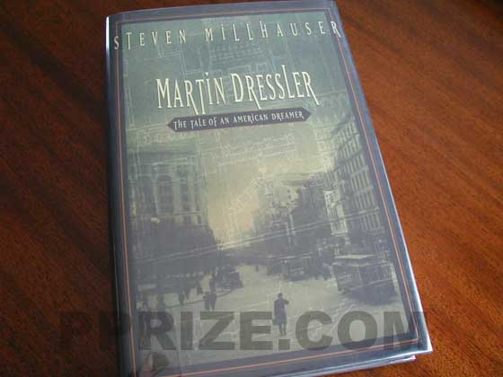 Picture of the 1996 first edition dust jacket for Martin Dressler: The Tale of an