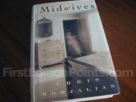 Picture of the 1997 first edition dust jacket for Midwives.