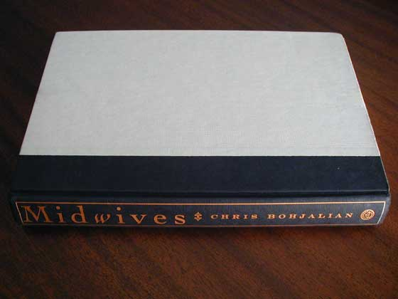 Picture of the first edition Harmony Books boards for Midwives.