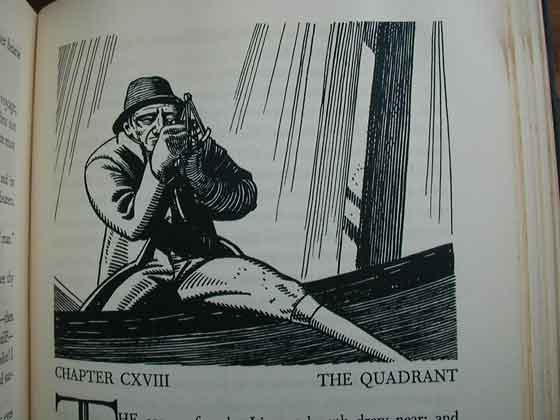 The following illustrations are from the Rockwell Kent first trade edition.