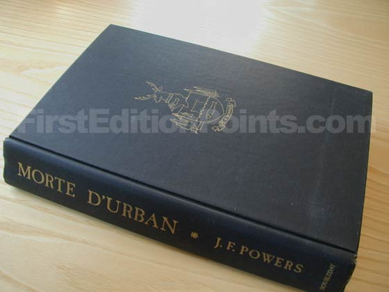 Picture of the first edition Doubleday boards for Morte D'Urban.