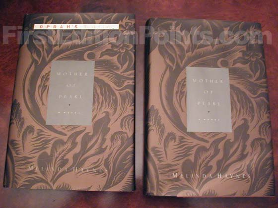 The book on the left has the second state Oprah dust jacket. The book on the right has