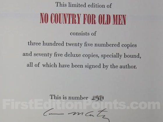 This is the signature page from one of the limited editions published by B.E. Trice