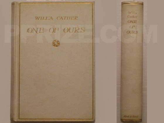 This is one of the first thirty-five of copies of the first edition. It was bound in