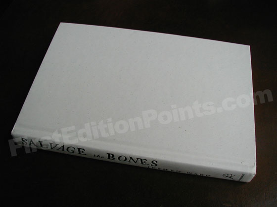 Picture of the first edition Bloomsbury boards for Salvage the Bones.