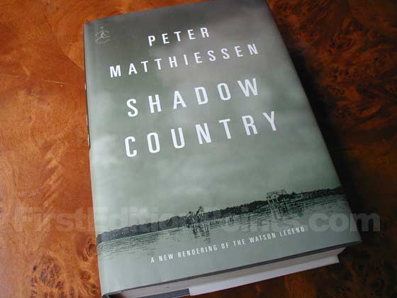 Picture of the 2008 first edition dust jacket for Shadow Country.
