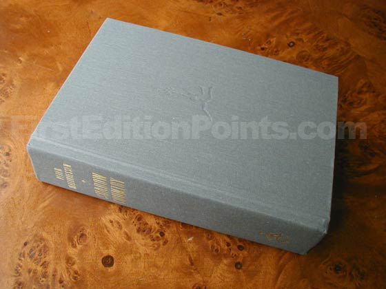 Picture of the first edition Modern Library boards for Shadow Country.