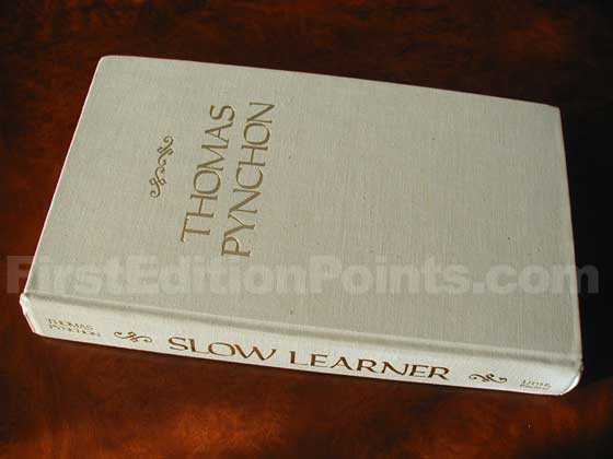 Picture of the first edition Little, Brown and Company boards for Slow Learner.