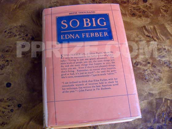This is the twelfth printing of the first edition of So Big.  It was printed in the same