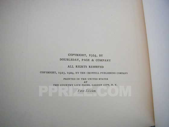 "On the true first edition of So Big, ""First Edition"" is stated on the copyright page."