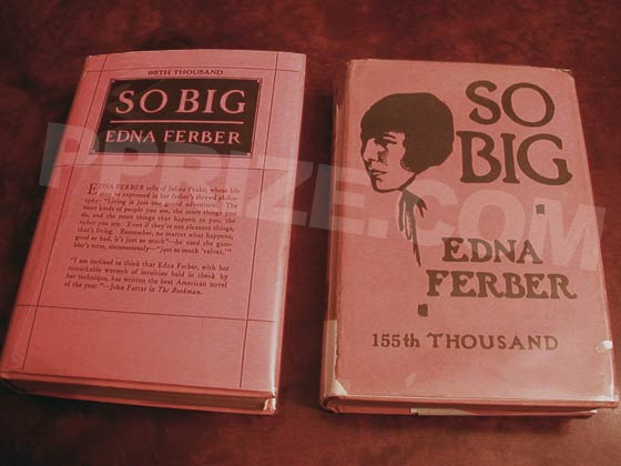 The front of the twelfth printing dust jacket (on the left) has a review by John Farrar.