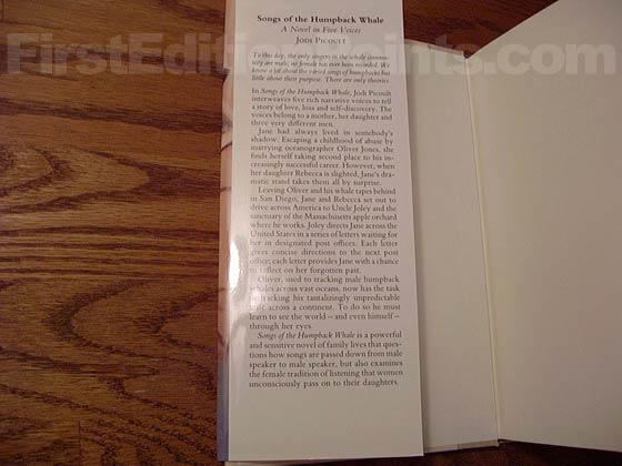 The $22.95 price is listed on the back of the dust jacket panel rather than here on the