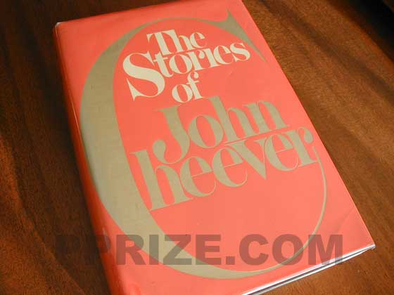 Picture of the 1978 first edition dust jacket for The Stories of John Cheever.