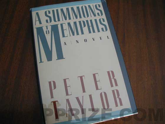Picture of the 1986 first edition dust jacket for A Summons to Memphis.