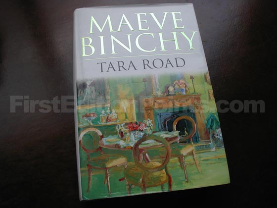 Picture of the 1998 first edition dust jacket for Tara Road.