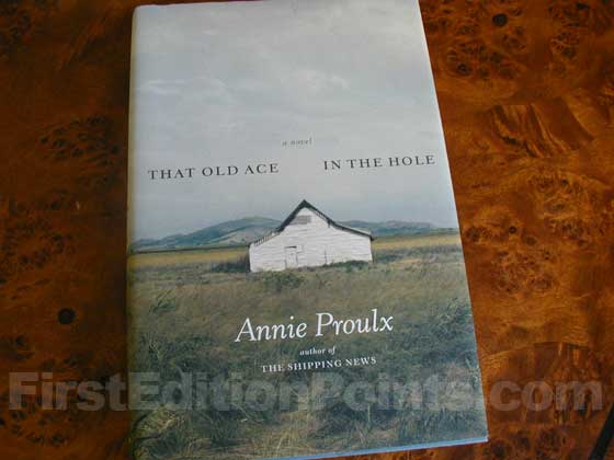 Picture of the 2002 first edition dust jacket for That Old Ace in the Hole.