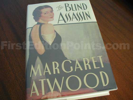 This is the first U.S. edition of The Blind Assassin.