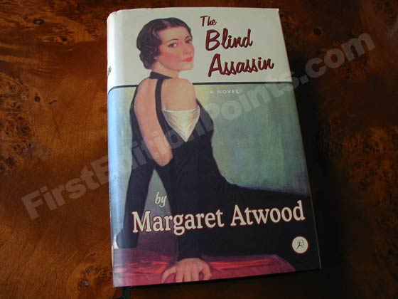 This is the first UK edition of The Blind Assassin.