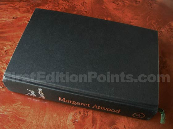 Picture of the first UK edition Bloomsbury boards for The Blind Assassin.