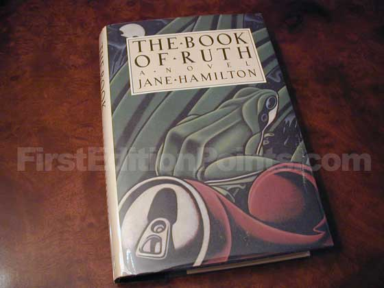 Picture of the 1988 first edition dust jacket for The Book of Ruth.