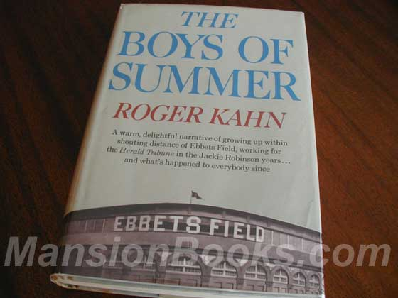 Picture of the 1972 first edition dust jacket for The Boys of Summer.