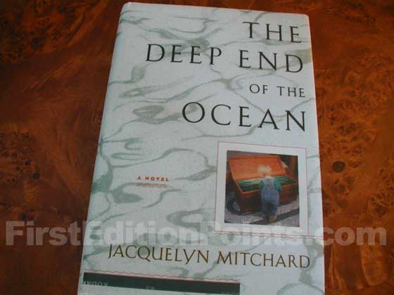 First Edition identification photo of The Deep End of the Ocean