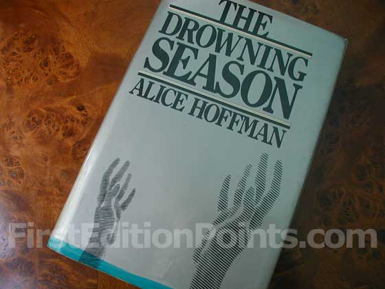 Picture of the 1979 first edition dust jacket for The Drowning Season.