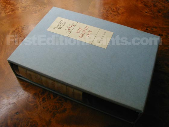 This is one of the 500 specially printed and bound copies of the first edition.  This