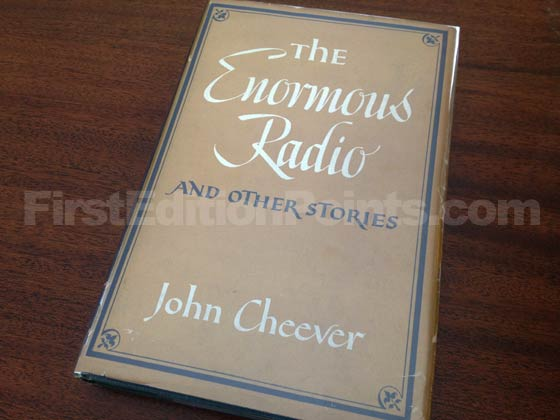 Picture of the 1953 first edition dust jacket for The Enormous Radio.