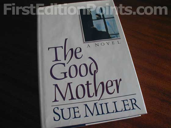 Picture of the 1986 first edition dust jacket for The Good Mother.