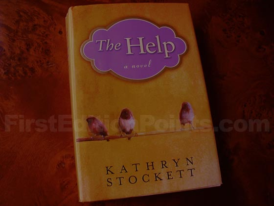Picture of the 2009 first edition dust jacket for The Help.