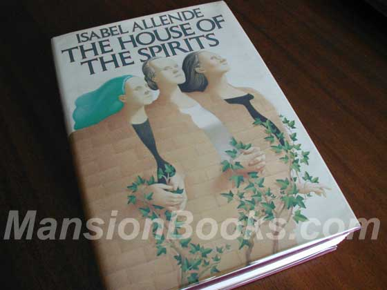 This is the First American Edition Dust Jacket for The House of the Spirits.