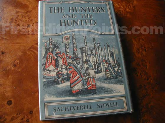 Picture of the back dust jacket for the first edition of The Hunters and the Hunted