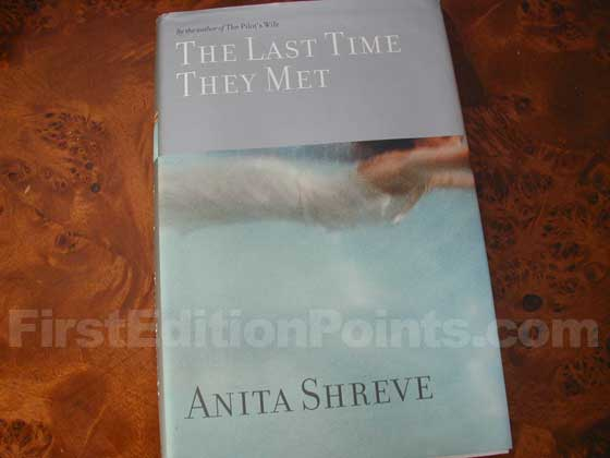 Picture of the 2001 first edition dust jacket for The Last Time They Met.