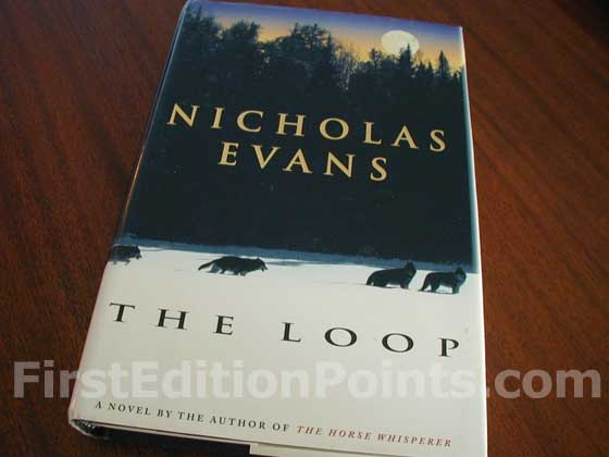 Picture of the 1998 first edition dust jacket for The Loop.