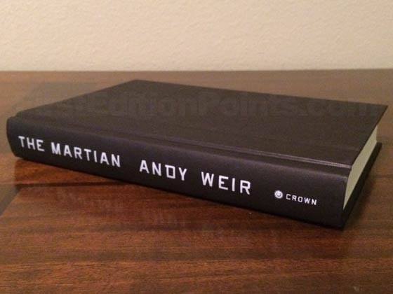 Picture of the first edition Crown boards for The Martian.
