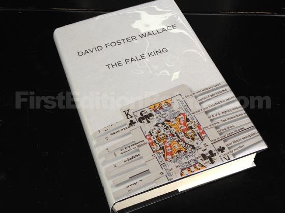 Picture of the 2011 first edition dust jacket for The Pale King. Photo courtesy of Bryan