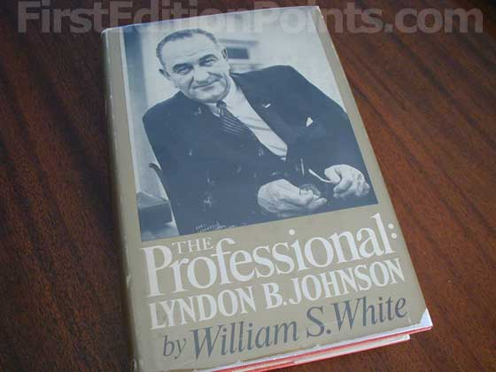 This is a fourth printing that was signed by Lyndon Johnson and sent to delegates of the