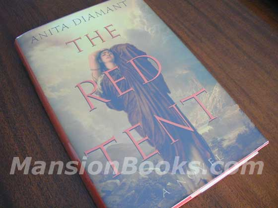 Picture of the 1997 first edition dust jacket for The Red Tent.