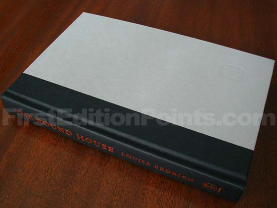 Picture of the first edition Harper Collins boards for The Round House.