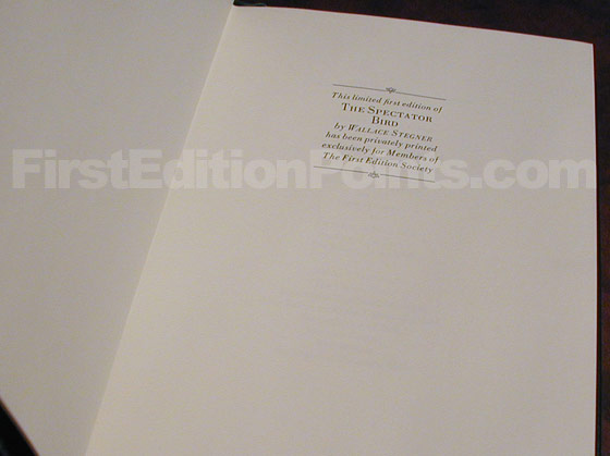 This page says that it is the limited first edition and that it has been privately