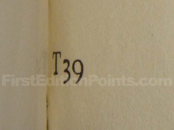 "This is the ""T39"" gutter code on page 823."