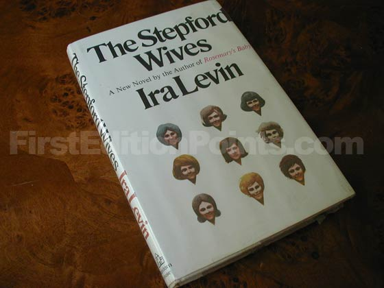Picture of the 1972 first edition dust jacket for The Stepford Wives.