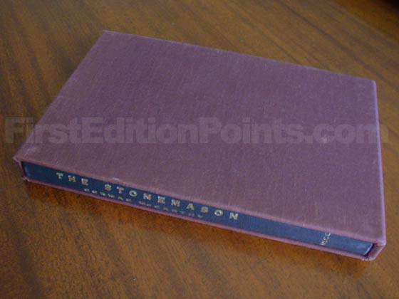 "This is ones of the 350 ""boxed copies"" of the first edition.  It has a special signed"