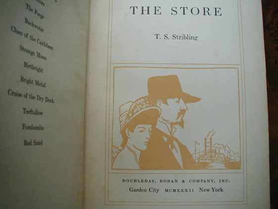 Picture of the title page for The Store.