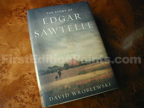 Picture of the 2008 first edition dust jacket for The Story of Edgar Sawtelle.