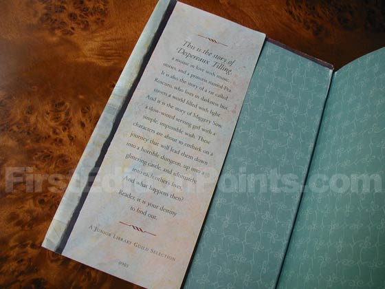 First printings and other early printings lack a printed price on the front dust jacket