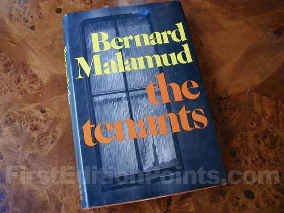 Picture of the 1971 first edition dust jacket for The Tenants.